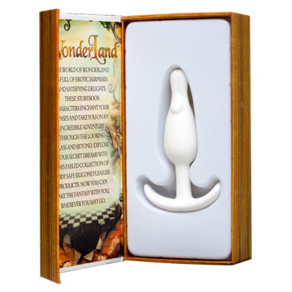 Wonderland The White Wabbit Mini Butt Plug