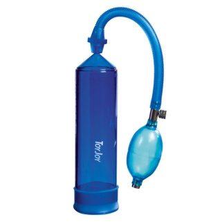 Toy Joy Rock Hard Stimulation Blue Power Penis Pump