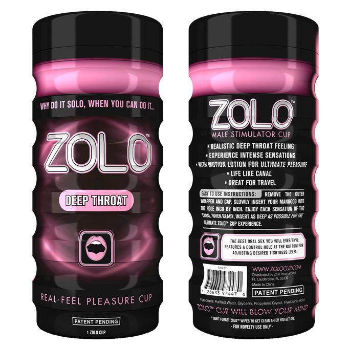Zolo Deep Throat Masturbator Cup