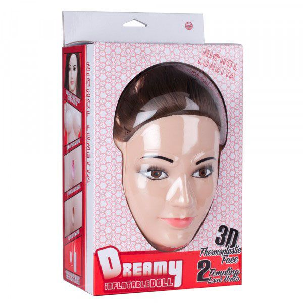 Nichol Lunetta Dreamy 3D Face Love Doll