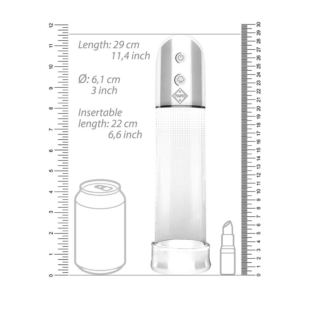 Automatic Luv Pump Transparent