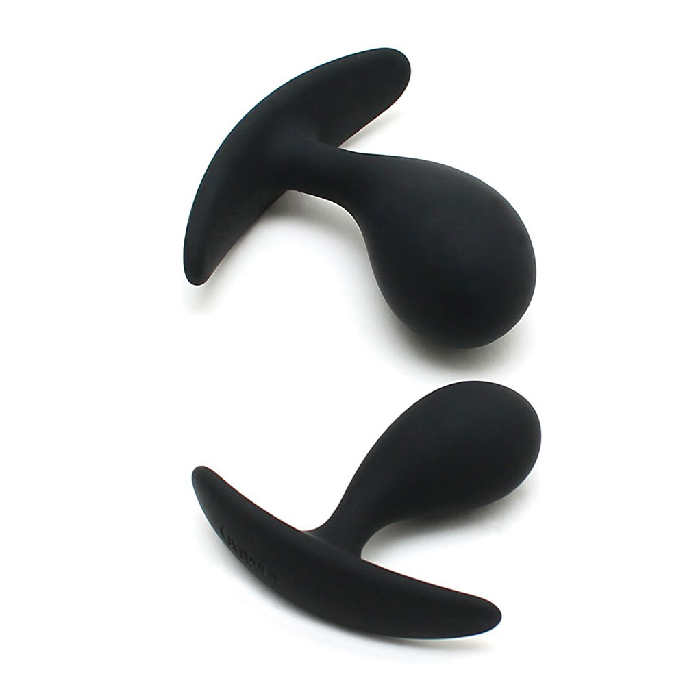 Copenhagen Black Duo Anal Plug Set