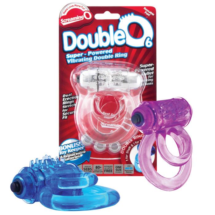 Screaming O Double O 6 Vibrating Cockring
