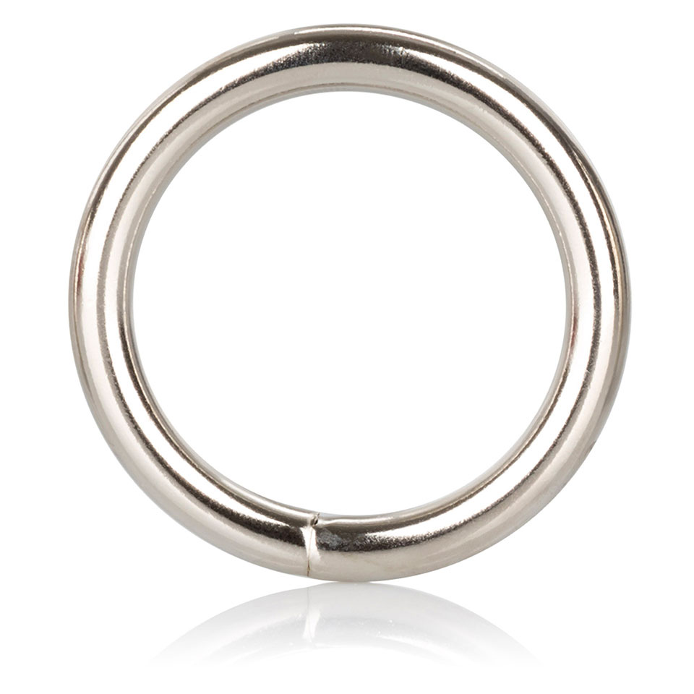 Medium Silver Cock Ring