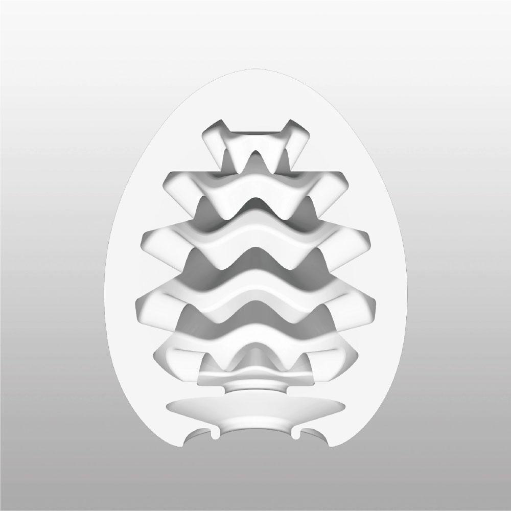 Tenga Wavy Egg Masturbator